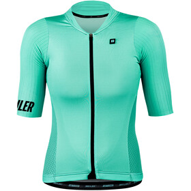 Biehler Signature³ Performance Jersey Korte Mouwen Dames, electric teal